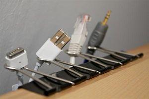 Binderclips-kabels