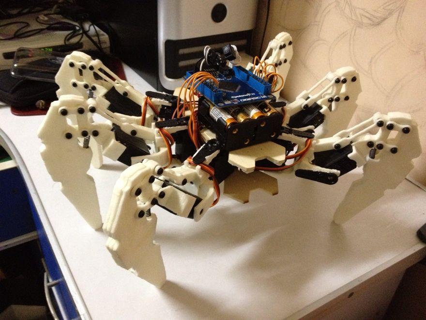 TC_Chu's Point: Hexapod Robot based on FPGA